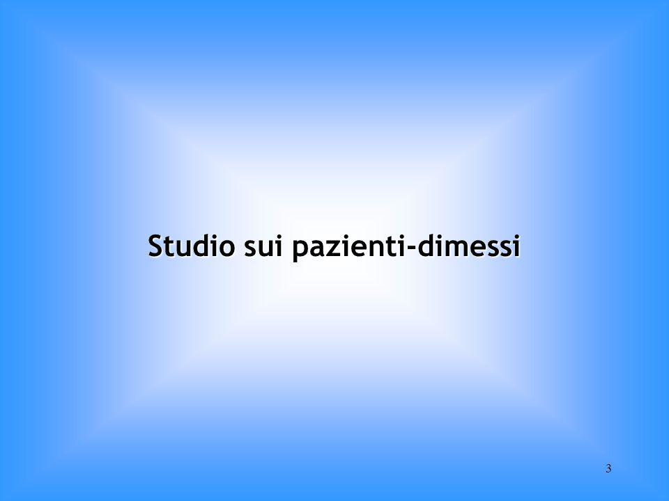 3 Studio sui pazienti-dimessi