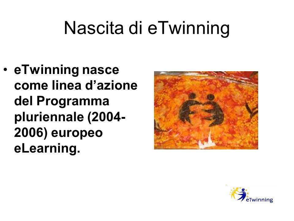 Evoluzione di eTwinning Dal 2007, eTwinning è parte del Programma per l apprendimento permanente (Lifelong Learning Programme 2007-2013)