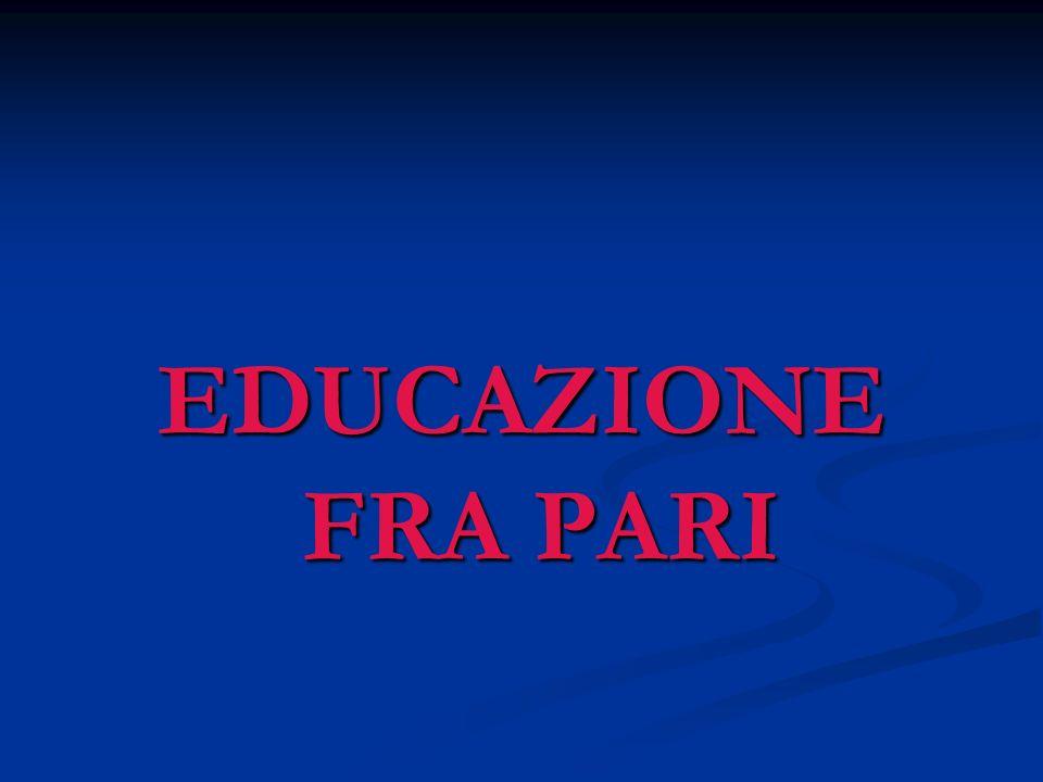 EDUCAZIONE FRA PARI