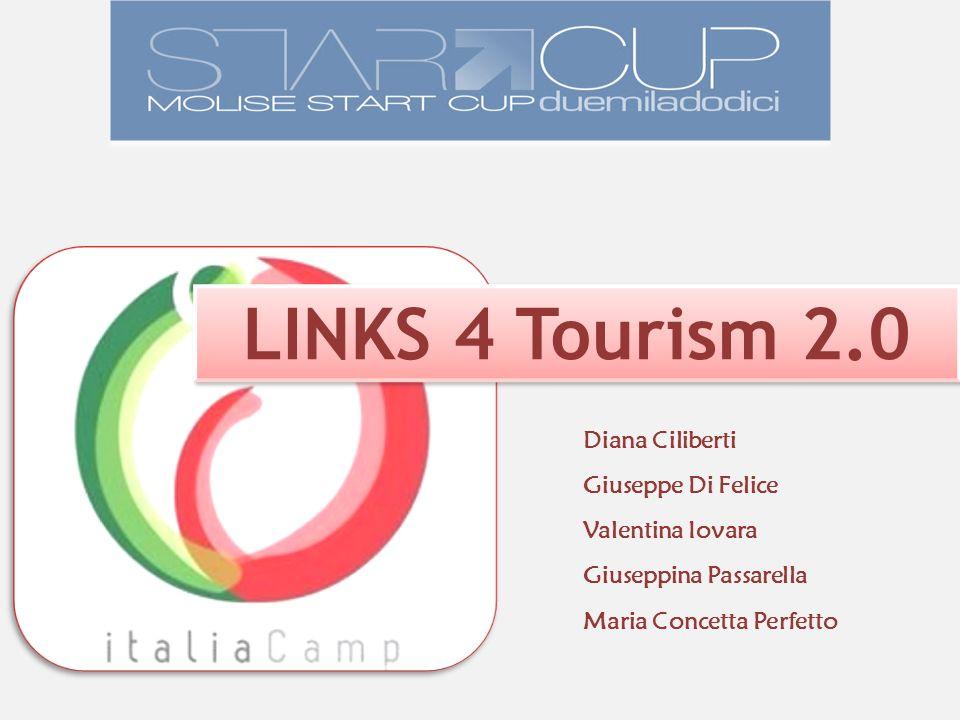 Giuseppina Passarella LINKS 4 Tourism 2.0 Diana Ciliberti Giuseppe Di Felice Maria Concetta Perfetto Valentina Iovara