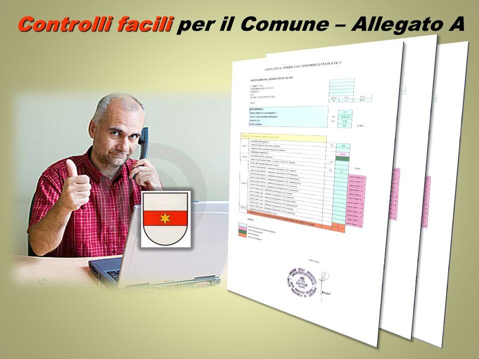 Controlli facili Controlli facili per il Comune – Allegato A
