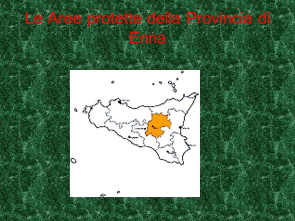 Le Aree protette della Provincia di Enna