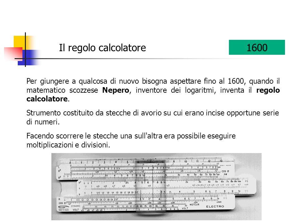 Al noto filosofo francese Pascal viene riconosciuto il merito di aver costruito la prima macchina calcolatrice, la pascalina.