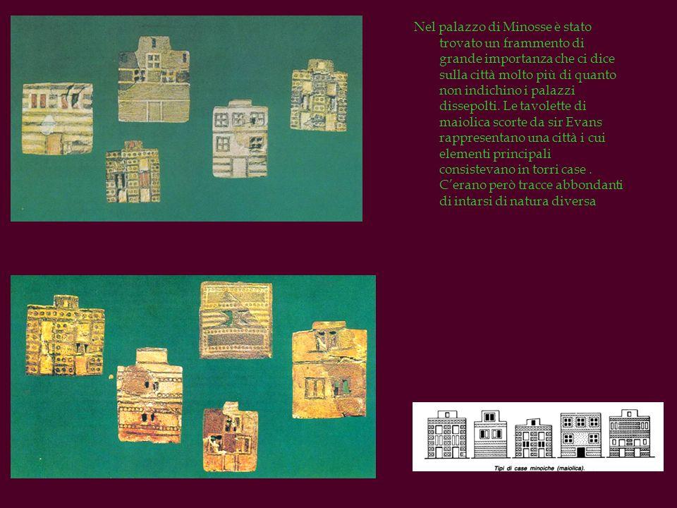 Nel palazzo di Minosse è stato trovato un frammento di grande importanza che ci dice sulla città molto più di quanto non indichino i palazzi dissepolt
