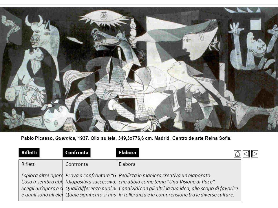 Guernica Terra e libertà Ho sempre creduto che gli artisti che vivono e lavorano con valori spirituali non possano - e non debbano - rimanere indiffer