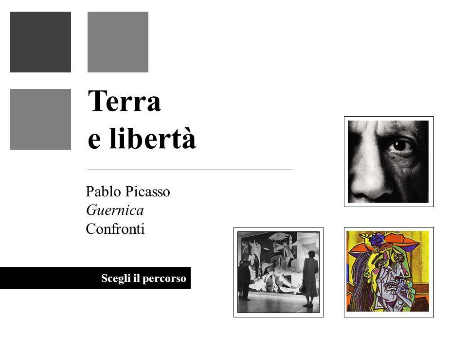 Guernica Terra e libertà Angoscia - Disperazione Disorientamento - Annientamento Impossibilità di trovare un vero perché