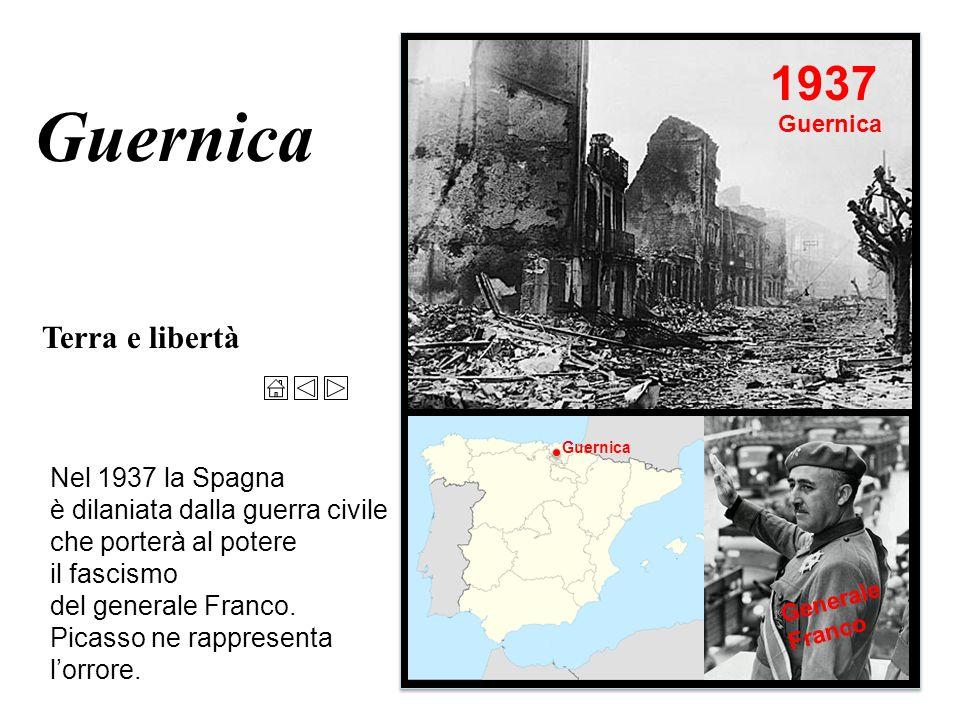 Guernica Terra e libertà Il contrasto della realtà