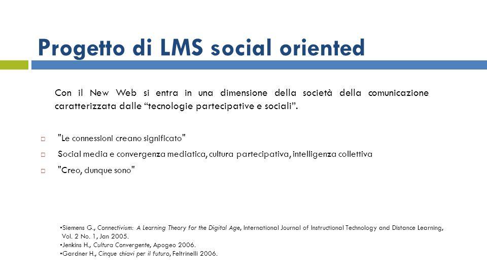 Con il New Web si entra in una dimensione della società della comunicazione caratterizzata dalle tecnologie partecipative e sociali.