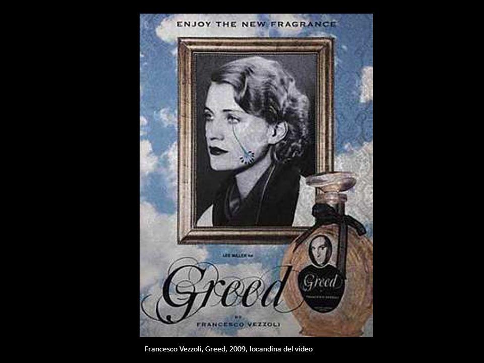 Francesco Vezzoli, Greed, 2009, locandina del video