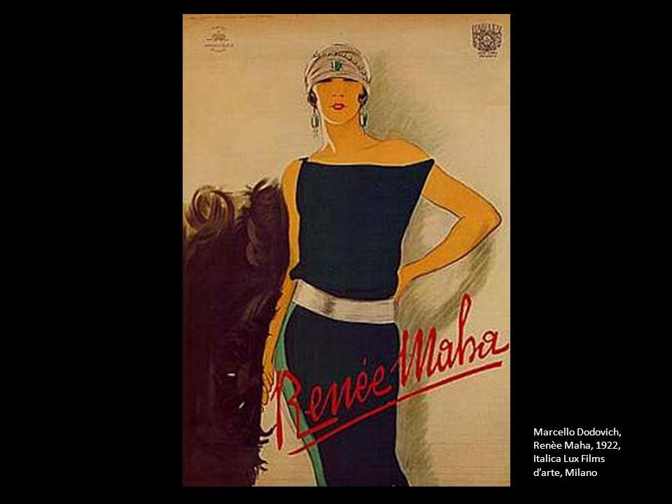Marcello Dodovich, Renèe Maha, 1922, Italica Lux Films darte, Milano