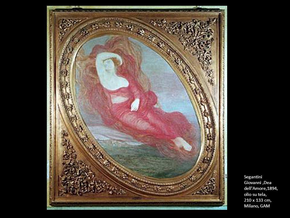 Segantini Giovanni,Dea dell'Amore,1894, olio su tela, 210 x 133 cm, Milano, GAM