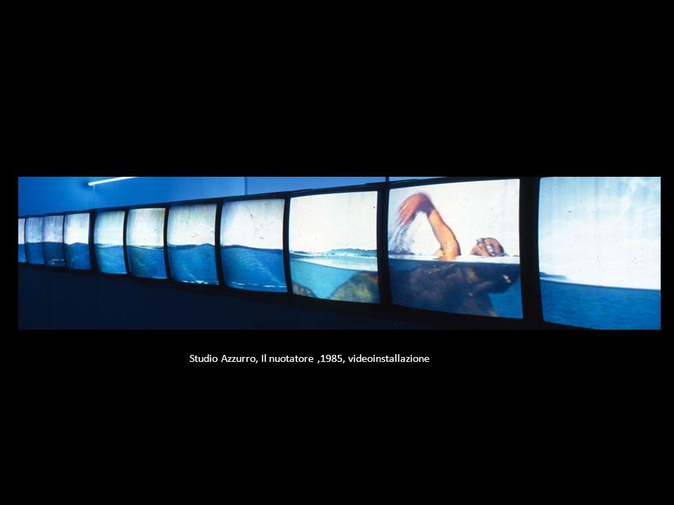 Studio Azzurro, Il nuotatore,1985, videoinstallazione