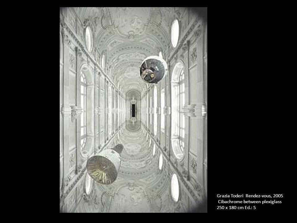 Grazia Toderi Rendez-vous, 2005 Cibachrome between plexiglass 250 x 180 cm Ed.: 5