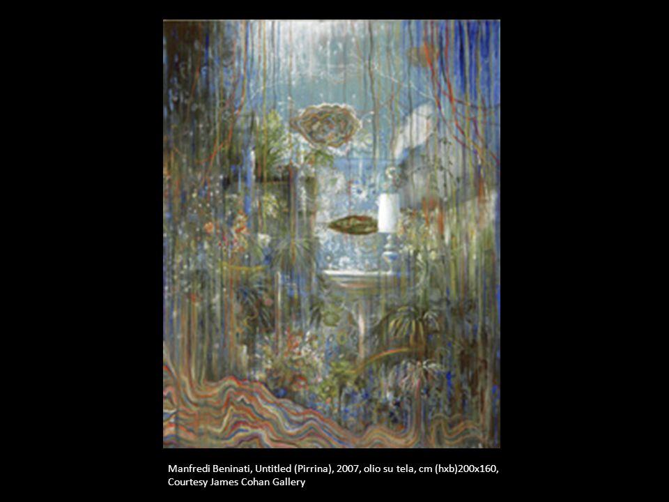 Manfredi Beninati, Untitled (Pirrina), 2007, olio su tela, cm (hxb)200x160, Courtesy James Cohan Gallery