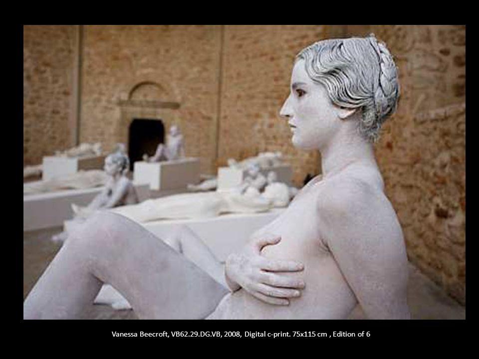 Vanessa Beecroft, VB62.29.DG.VB, 2008, Digital c-print. 75x115 cm, Edition of 6