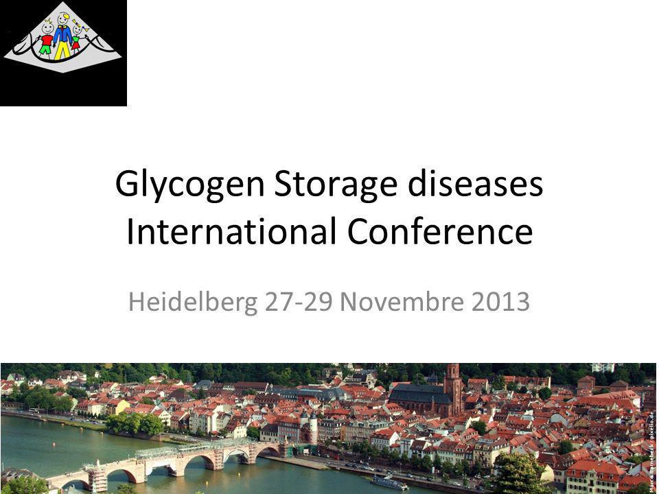 Fatti e numeri La più completa conferenza sulle glicogenosi tenuta negli ultimi anni 325 Partecipanti da 31 nazioni 161 esperti medici 39 rappresentanti di Industrie Importante presenza delle associazioni di pazienti (29 associazioni, 99 partecipanti): – Italia, Germania.