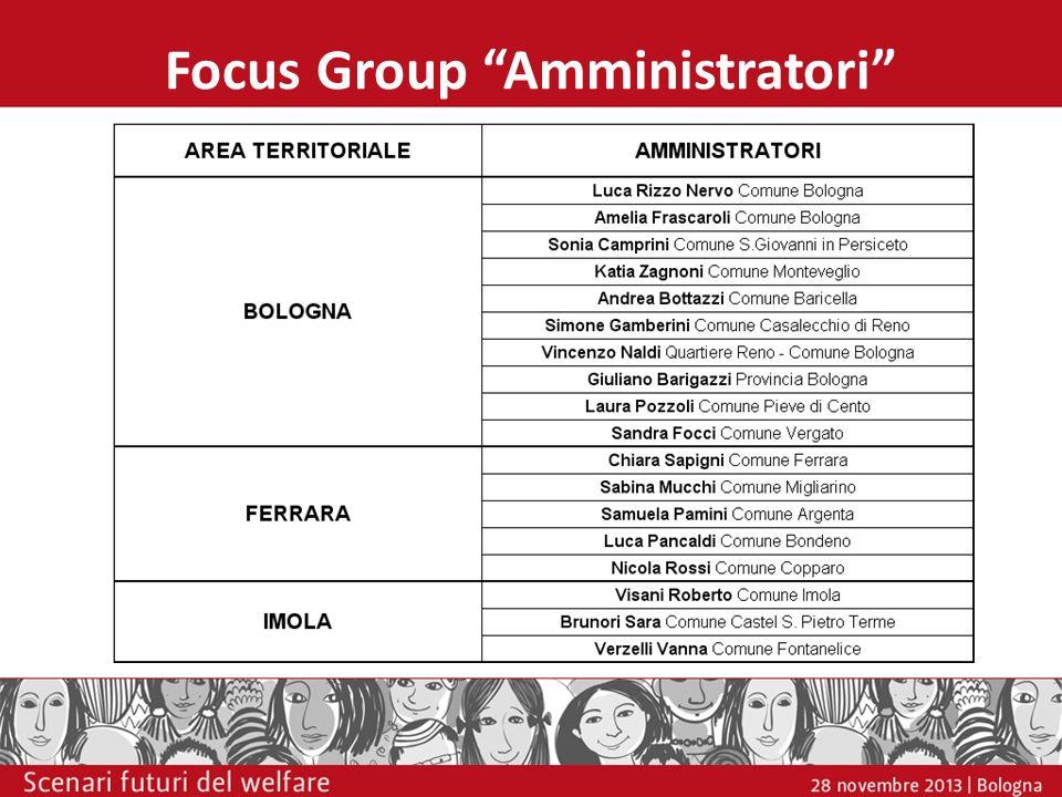 Focus Group Amministratori