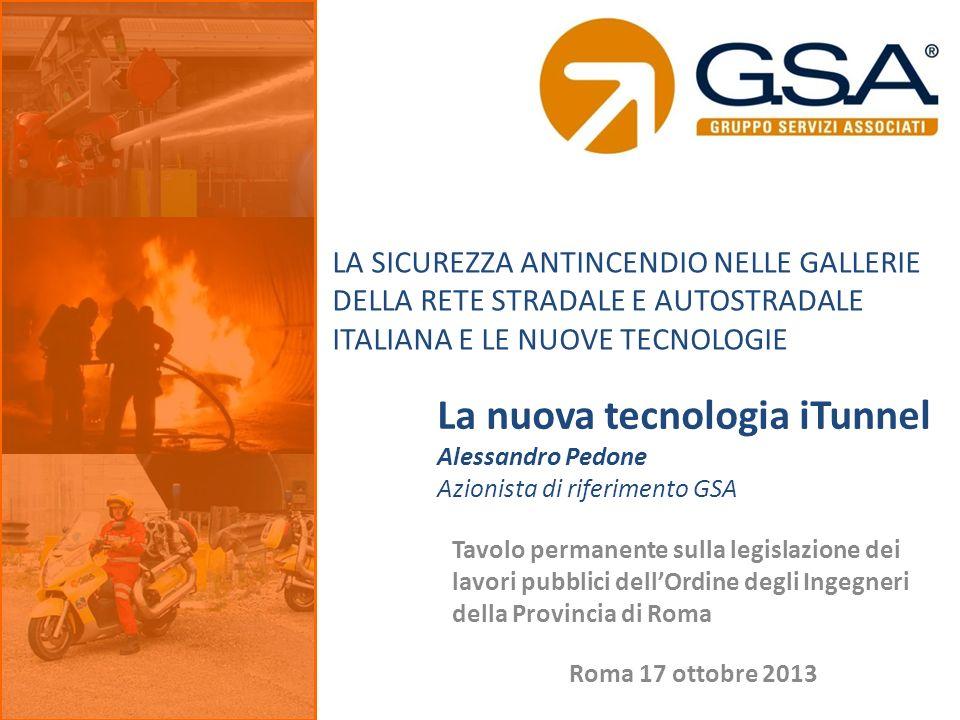 Tavolo permanente sulla legislazione dei lavori pubblici dellOrdine degli Ingegneri della Provincia di Roma La nuova tecnologia iTunnel Alessandro Ped