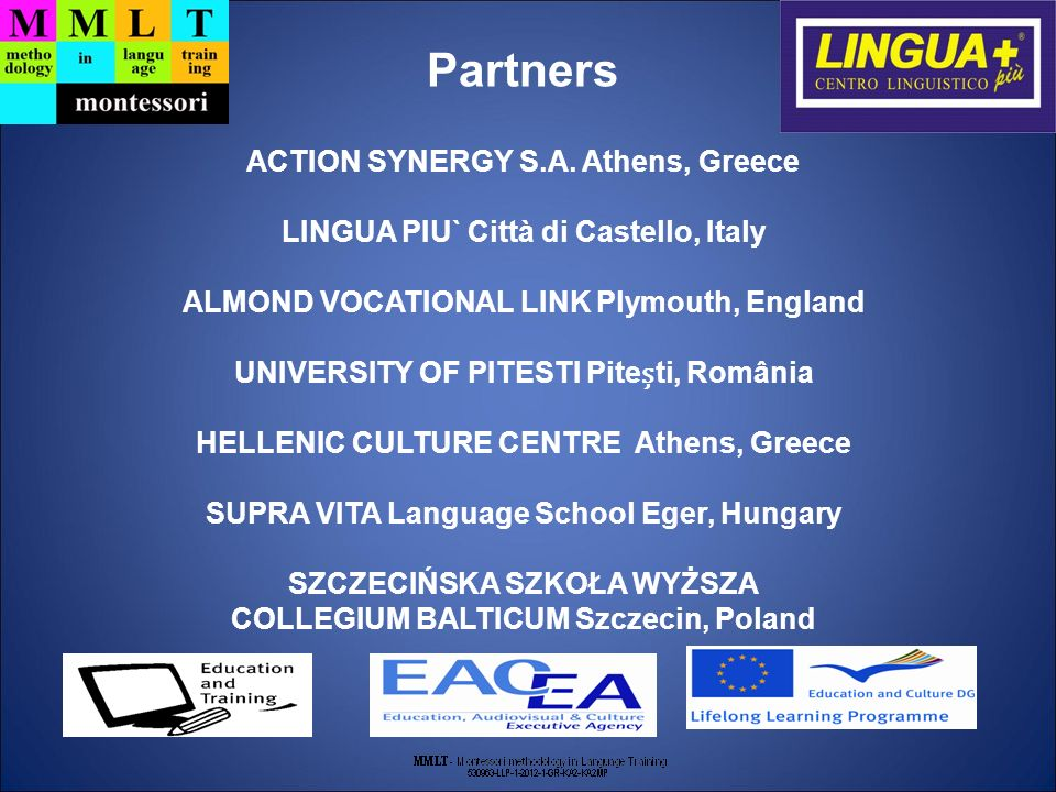 Partners ACTION SYNERGY S.A.