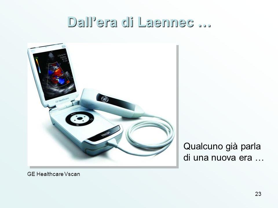23 Dallera di Laennec … GE Healthcare Vscan Qualcuno già parla di una nuova era …