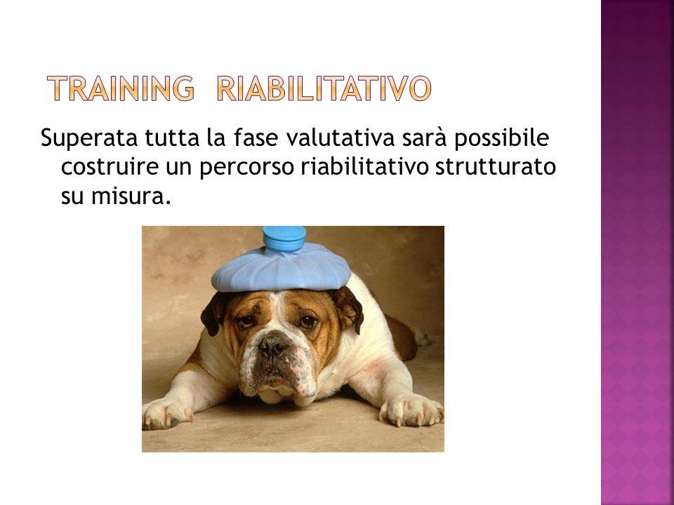 Superata tutta la fase valutativa sarà possibile costruire un percorso riabilitativo strutturato su misura.