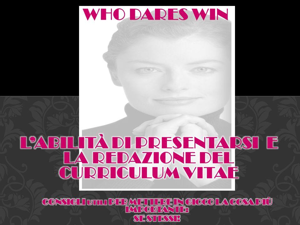 WHO DARES WIN