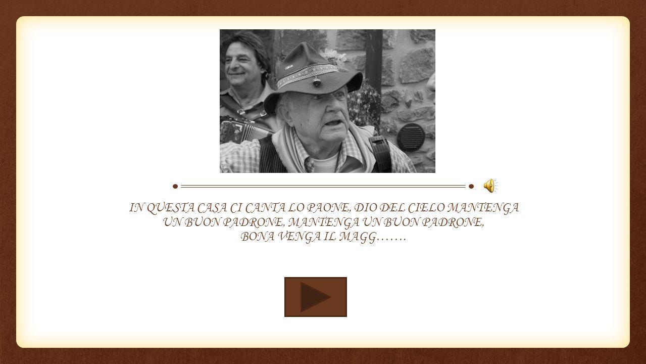 PRIMO MAGGIO È DAPPERTUTTO, IN ITALIA E IN ALTRI STATI, VI PREGHIAM DI ESSER GARBATI, DATECI UOVA E DEL PROSCIUTTO, PRIMO MAGGIO È DAPPERTUTTO …….
