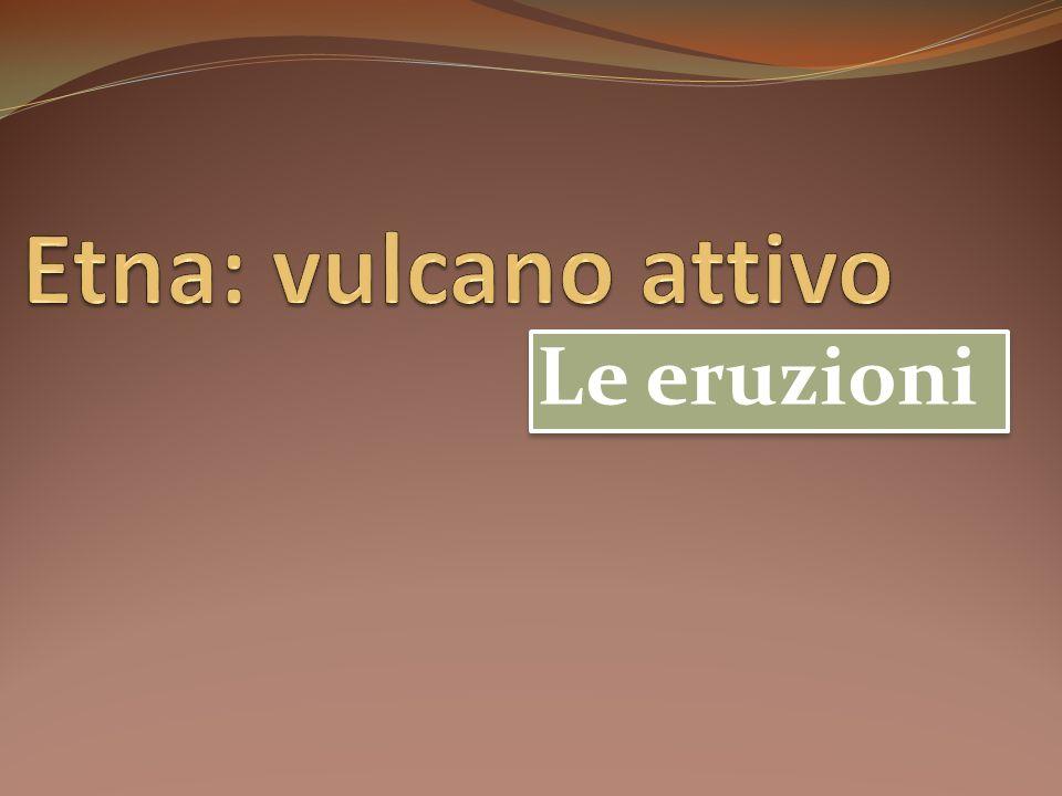 La Regione Etnea è interessata da due tipologie di rischio naturale: quello sismico e quello vulcanico.