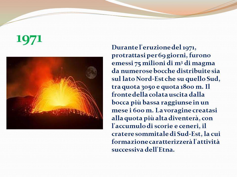 L eruzione del 1983 viene ricordata anche per il tentativo, fatto il 14 maggio, di deviazione della colata.