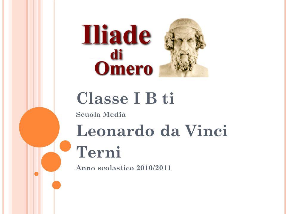 Classe I B ti Scuola Media Leonardo da Vinci Terni Anno scolastico 2010/2011