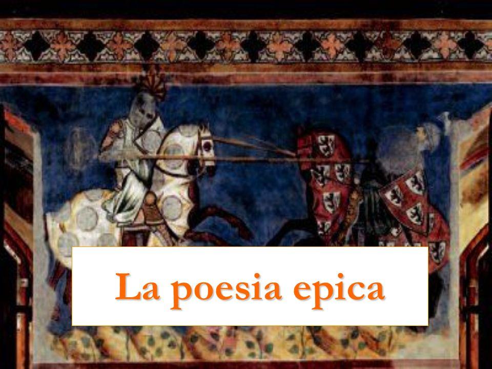 Le origini del genere epico Il genere epico è diffuso in tutta la tradizione letteraria mondiale.