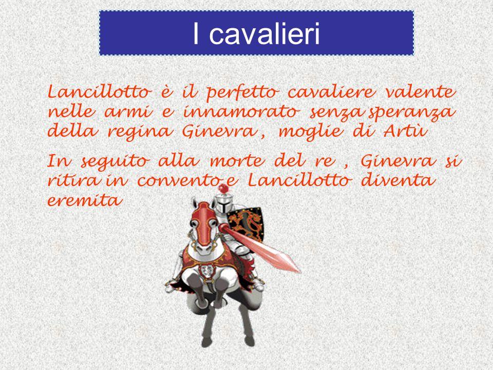 Lancillotto è il perfetto cavaliere valente nelle armi e innamorato senza speranza della regina Ginevra, moglie di Artù In seguito alla morte del re,
