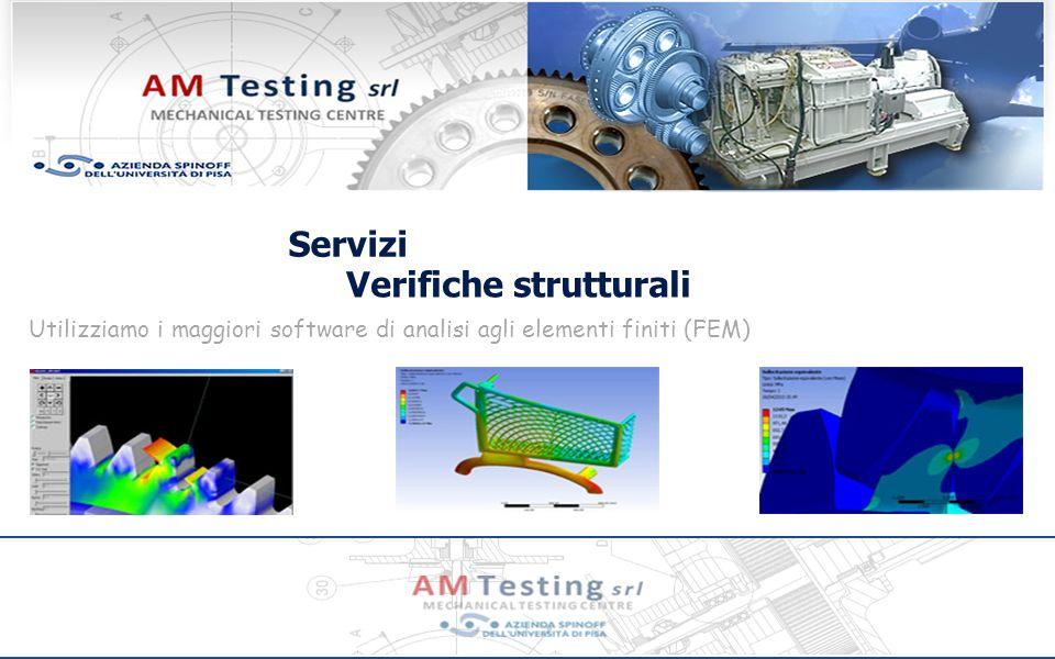 Servizi Verifiche strutturali Utilizziamo i maggiori software di analisi agli elementi finiti (FEM)