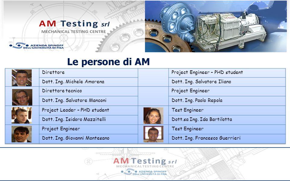 Prodotti Sistemi di prova La AM TESTING propone soluzioni di sistemi di prova chiavi in mano ProgettazioneProduzioneAssemblaggio