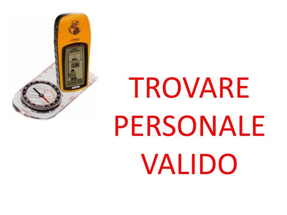 TROVARE PERSONALE VALIDO