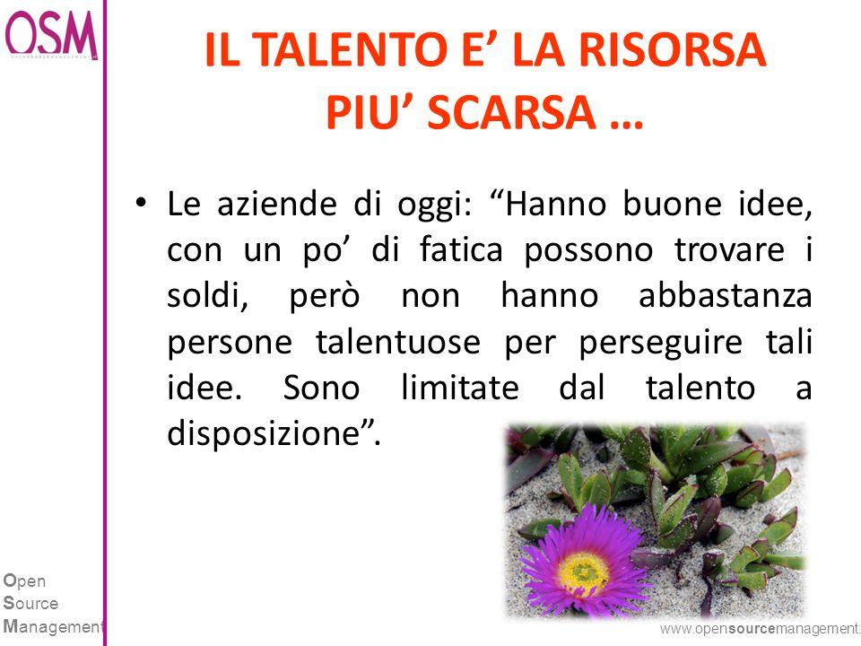 O pen S ource M anagement www.opensourcemanagement.it IL COLLOQUIO DI SELEZIONE