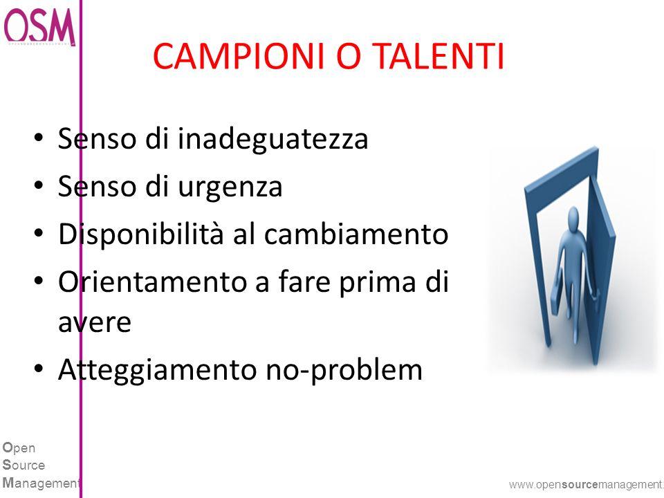 O pen S ource M anagement www.opensourcemanagement.it UNA COSTANTE ATTIVITA .