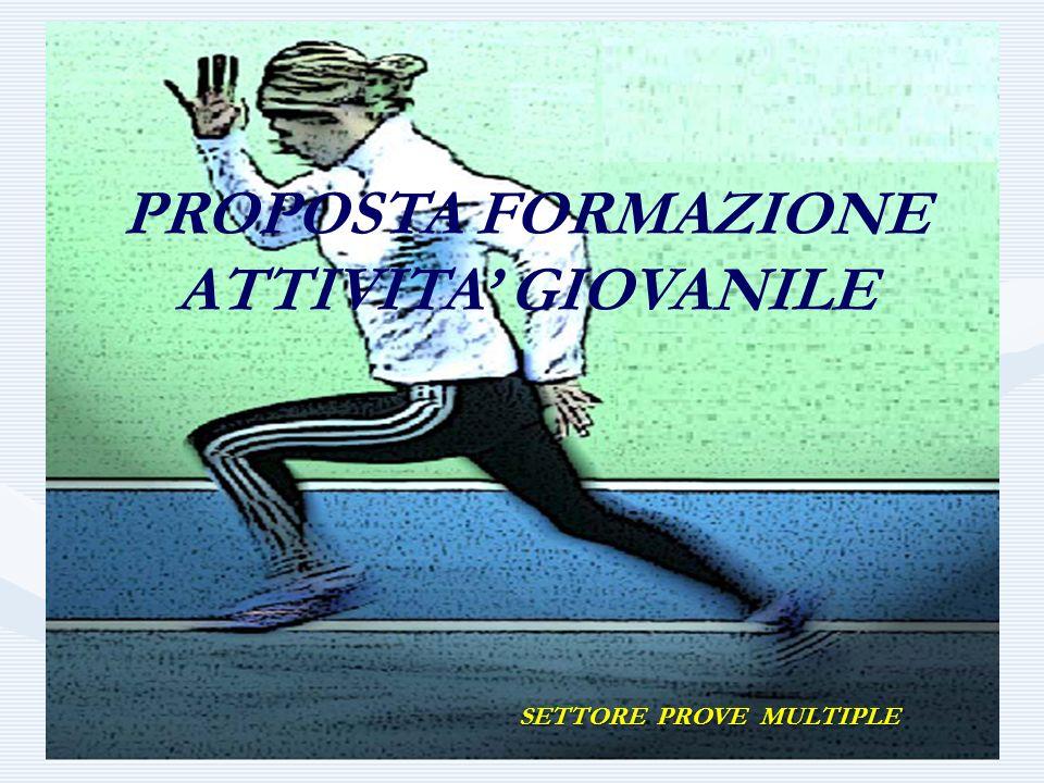 PROPOSTA FORMAZIONE ATTIVITA GIOVANILE SETTORE PROVE MULTIPLE