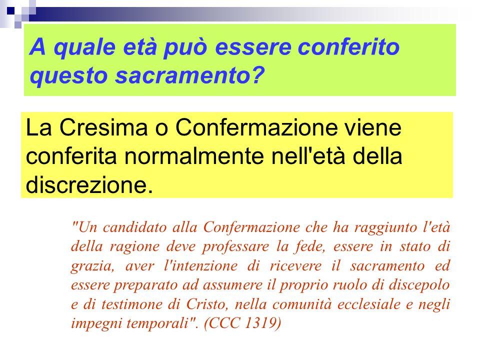 Quando Gesù ha istituito il sacramento della Cresima? Non sappiamo quando Gesù abbia istituito questo sacramento, ma sappiamo che gli Apostoli lo ammi