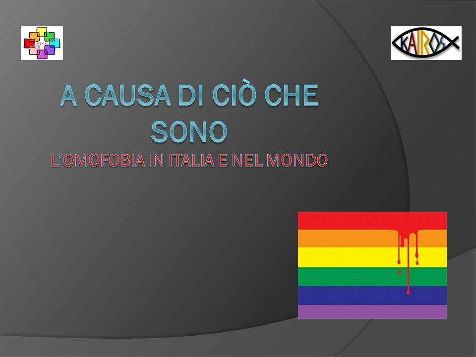 Agenda Introduzione: qualche definizione e domande frequenti Caratteristiche dellomofobia Conseguenze dellomofobia Omofobia e crimini dodio Le dimensioni del fenomeno omofobia Chiese e omofobia …e noi .