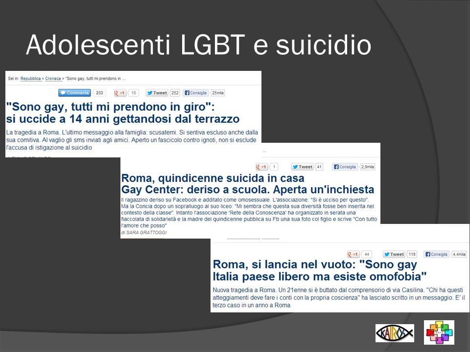 Adolescenti LGBT e suicidio