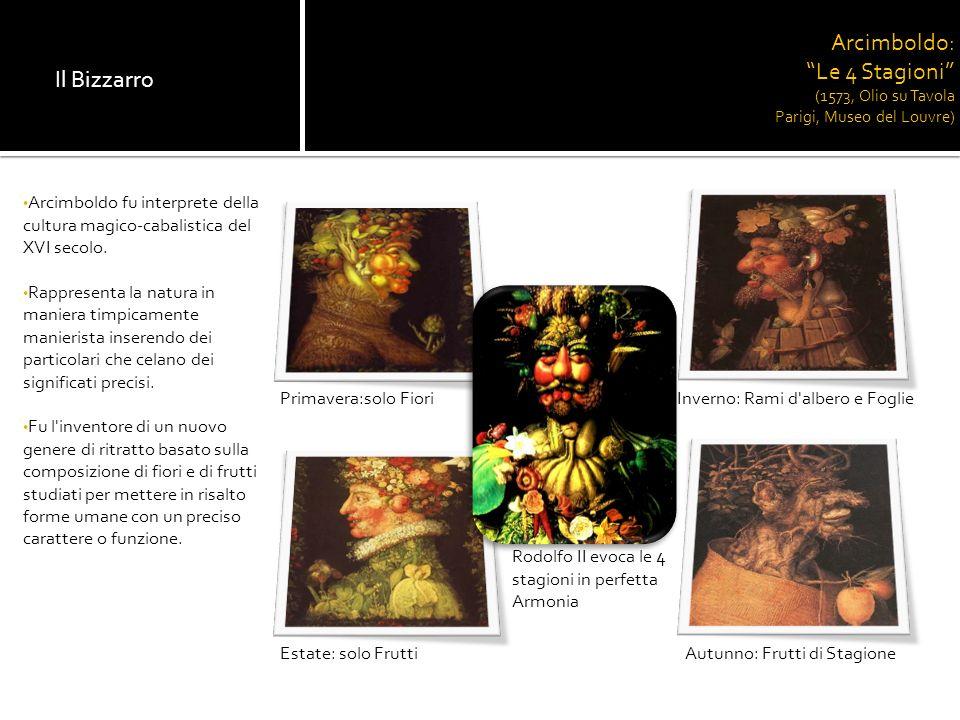 Bibliografia: 1.Enciclopedia Universale dell Arte 2.Filosofia 2 (Sei) 3.Itinerario nellArte (Zanichelli) Sitografia: 1.Www.dado.itWww.dado.it 2.www.candecademie.com/arcimboldowww.candecademie.com/arcimboldo 3.www.artousk.splinder.comwww.artousk.splinder.com 4.www.teatro.orgwww.teatro.org 5.www.it.encarta.msn.comwww.it.encarta.msn.com Realizzato da: Cerolini Diletta Mobili Elisa Scolpito Teo Scoponi Federica Maria