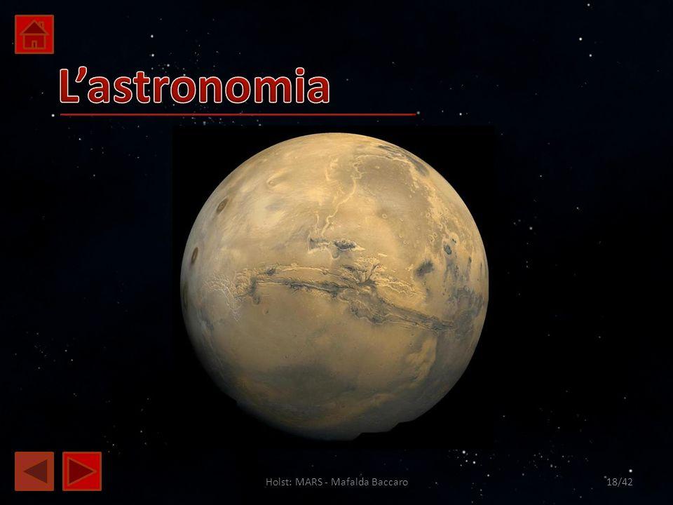 Holst: MARS - Mafalda Baccaro18/42