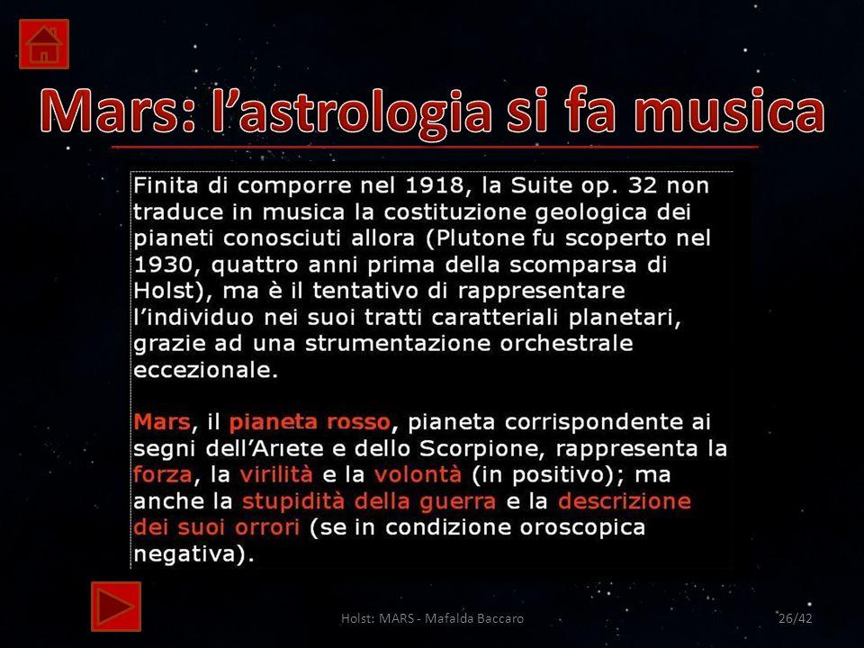 Holst: MARS - Mafalda Baccaro26/42