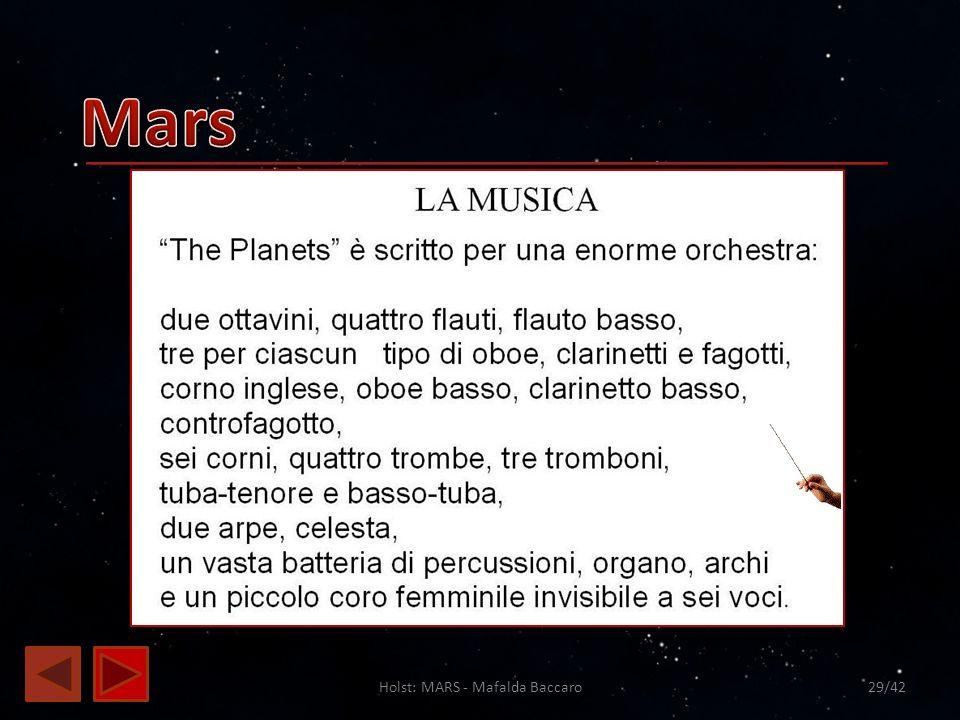 Holst: MARS - Mafalda Baccaro 29/42