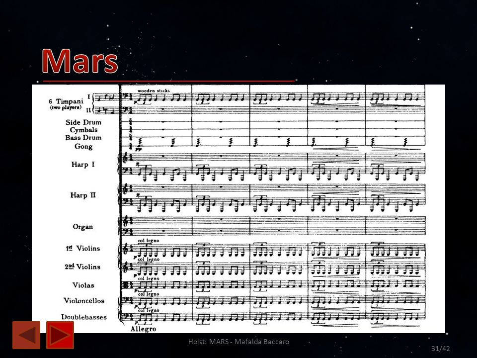 Holst: MARS - Mafalda Baccaro 31/42
