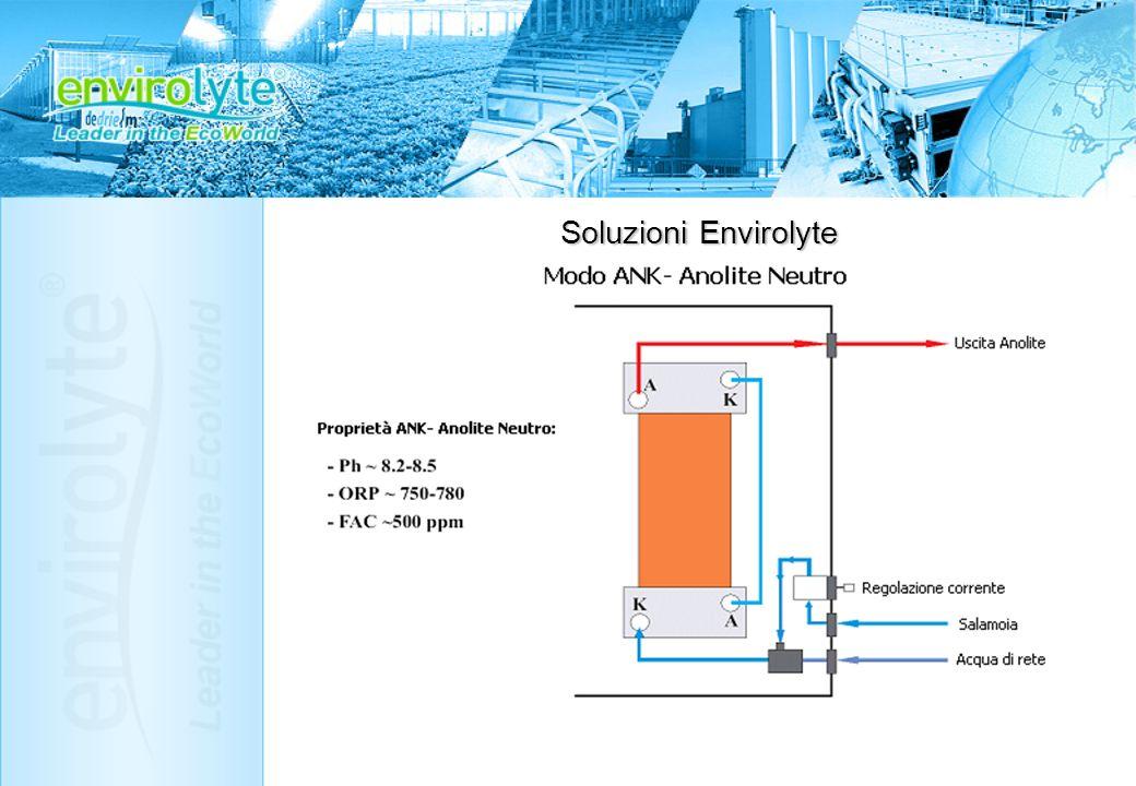 Envirolyte ELA-6000/CMU- Unità industriale indipendente, con stabilizzatore di corrente, lavaggio e raffreddamento automatizzati, progettata in accordo con le specifiche tecniche dellindustria di birra/bevande, di prodotti alimentari e di trattamento acque.