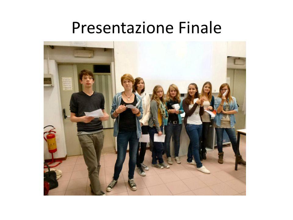 Presentazione Finale