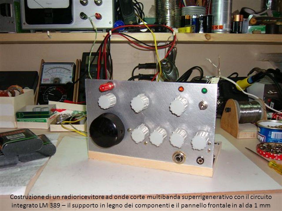 Costruzione di un radioricevitore ad onde corte multibanda superrigenerativo con il circuito integrato LM 389.