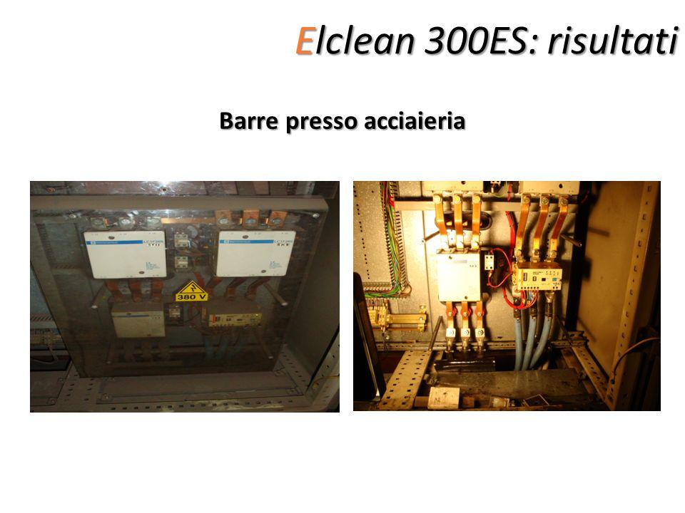 Elclean 300ES: risultati Barre presso acciaieria